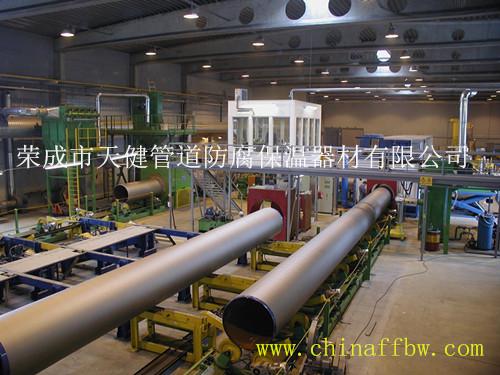 管道三层PE外防腐生产线