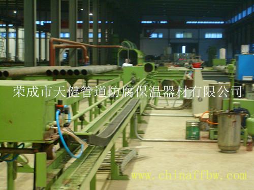 管道液体内喷涂生产线